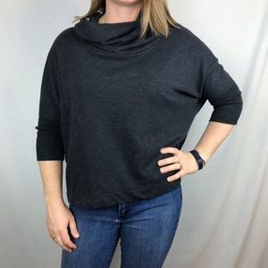 OLD NAVY cape sweater with turtle neck sz Medium